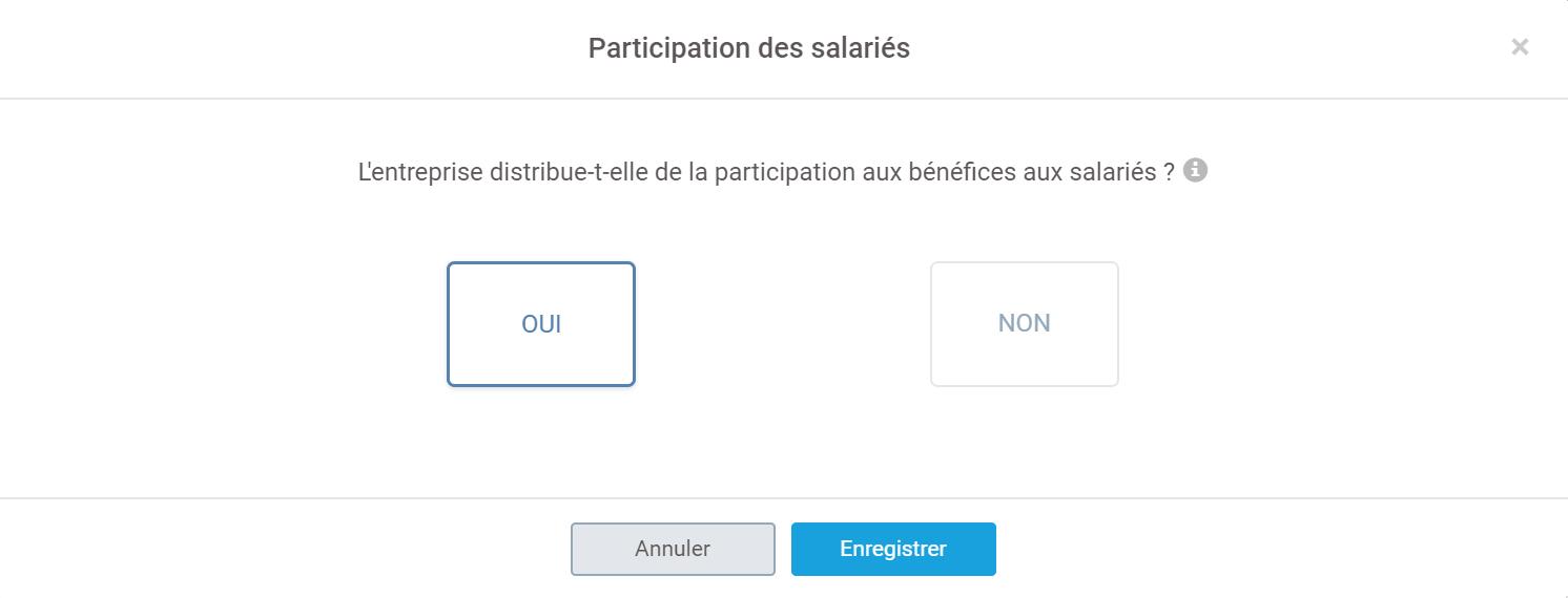 interface participation des salariés